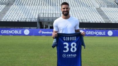 Olivier Giroud : «Je reviens au GF38 pour rendre au club tout ce qu'il m'a donné»