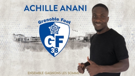 Achille Anani : «Je veux aider le GF38 en mettant ma pierre à l'édifice»