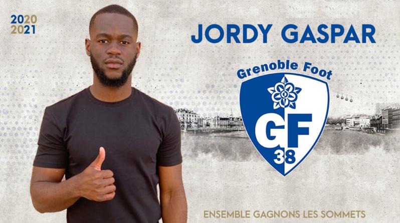 Le Monégasque Jordy Gaspar rejoint le GF38 !