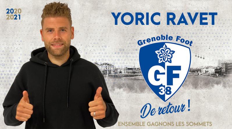 [Officiel] Yoric Ravet est un joueur du GF38