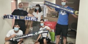 [Communiqué] Action solidaire des supporters du GF38 pour le personnel hospitalier.