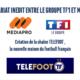 La Ligue 2 sera diffusée sur la chaine Téléfoot