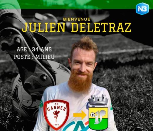 exGF38 – Julien Deletraz signe à Mandelieu