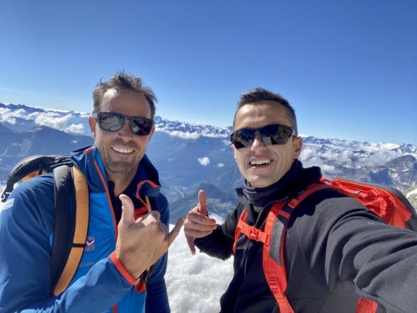 ExGF38 – Hristo Yanev grimpe le Mont-Blanc pour la bonne cause