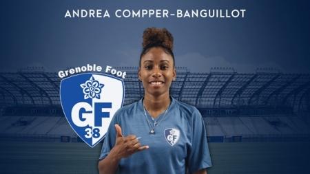 #D2F – Andréa Compper Banguillot rejoint le GF38