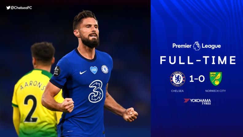#exGF38 – Olivier Giroud offre la victoire à Chelsea