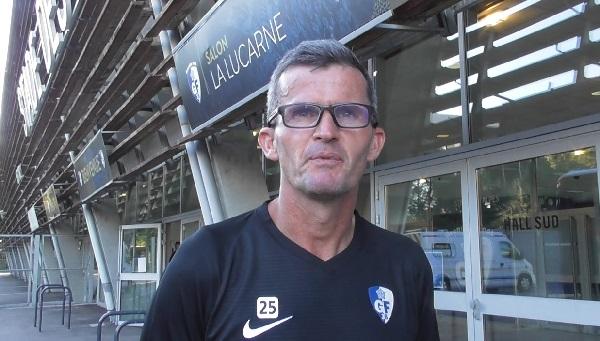 Frédéric Guéguen entraîneur du GF38 B