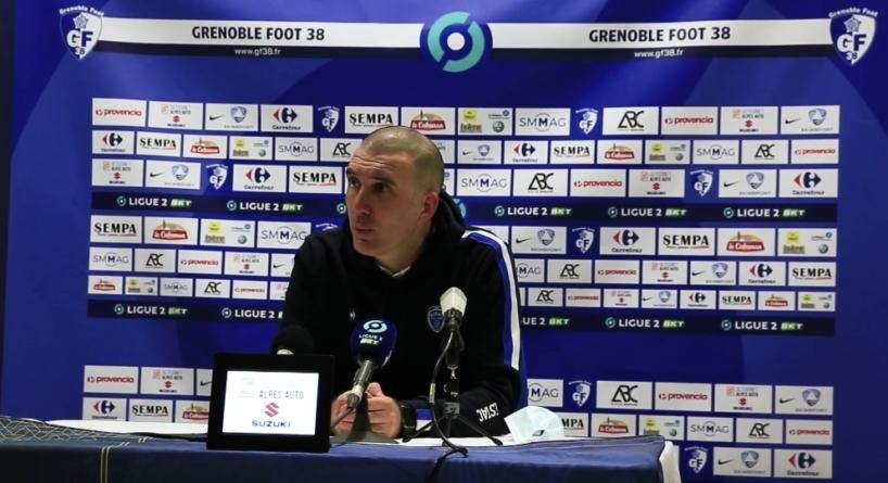 Laurent Batlles (Troyes) : «Grenoble a fait un beau match défensivement»