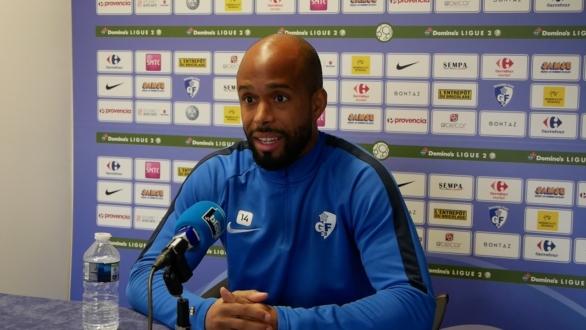 Loic Nestor (GF38) : «Sur le pénalty je prends absolument le ballon»