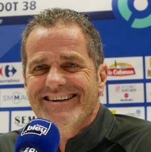 Philippe Hinschberger (GF38) : «être meilleurs sur les transitions défensives»