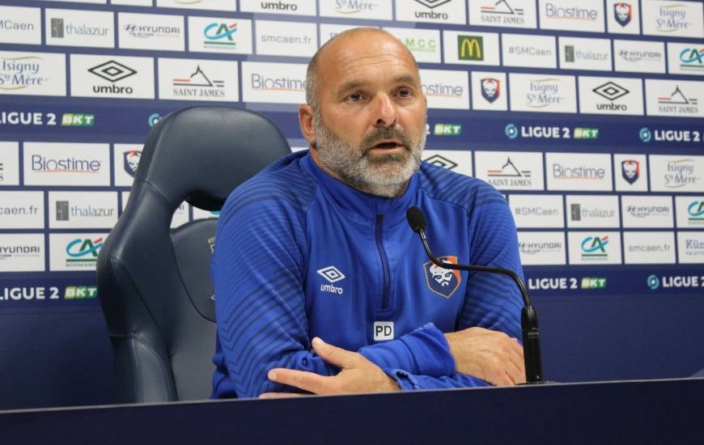 Pascal Dupraz (SM Caen) : «A force de courage on a obtenu un pénalty»