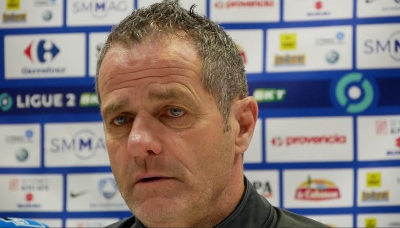 Philippe Hinschberger : «Notre première mi-temps est inqualifiable, en restant poli»