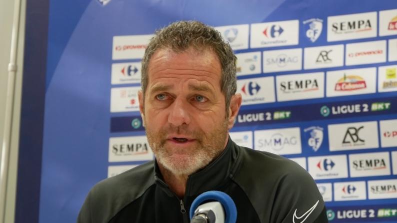 Philippe Hinschberger (GF38) : Ca ne sera pas du tout le même match qu'à l'aller»