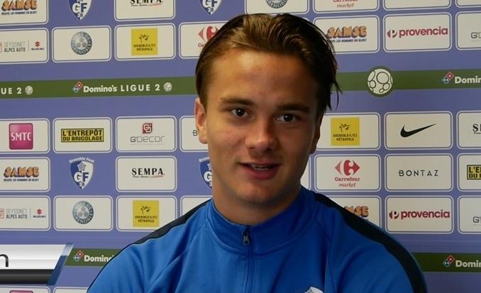 Kristofer Kristinsson : «Je suis un joueur de Grenoble»