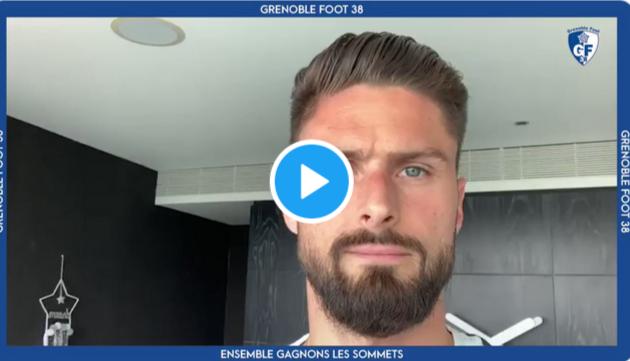 [Vidéo] Aguilar, Giroud, Belvito, le fils d'Ibou Coulibaly… ils apportent leur soutien au GF38