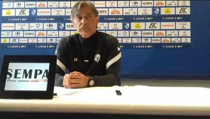Maurizio Jacobacci (GF38) : «On doit se racheter et montrer un autre visage»