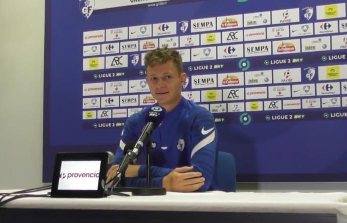 Jules Sylvestre-Brac (GF38) : «On prend beaucoup de plaisir au Stade des Alpes»