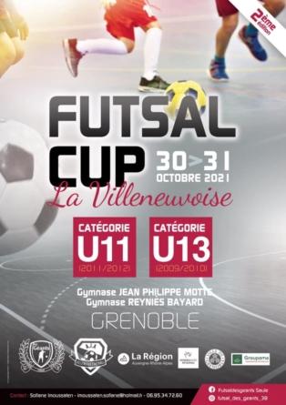 Futsal Cup – La Villeneuvoise : découvrez la composition des poules